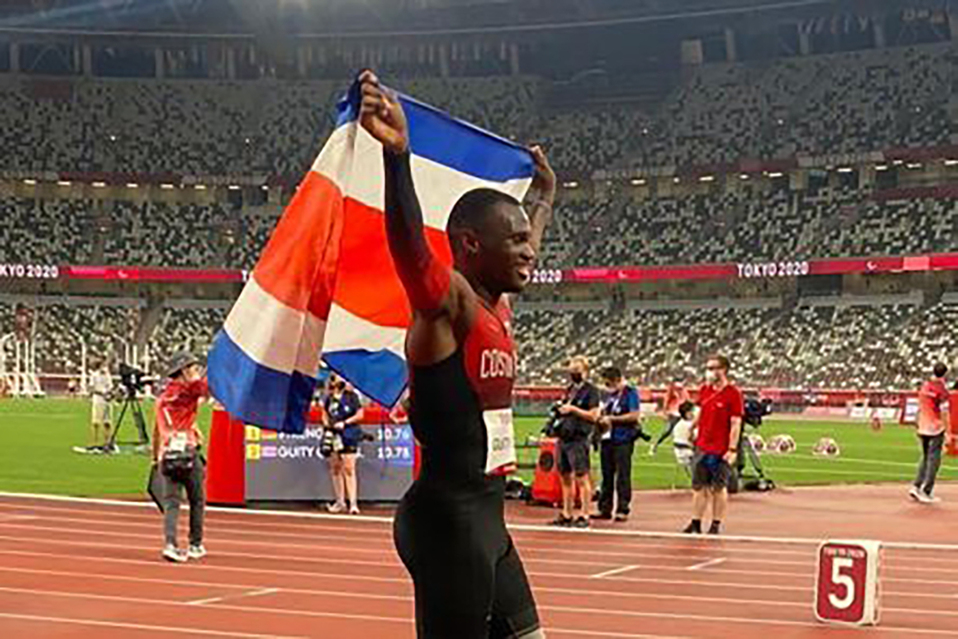 Sherman Güity gana medalla de plata en Juegos Paralímpicos