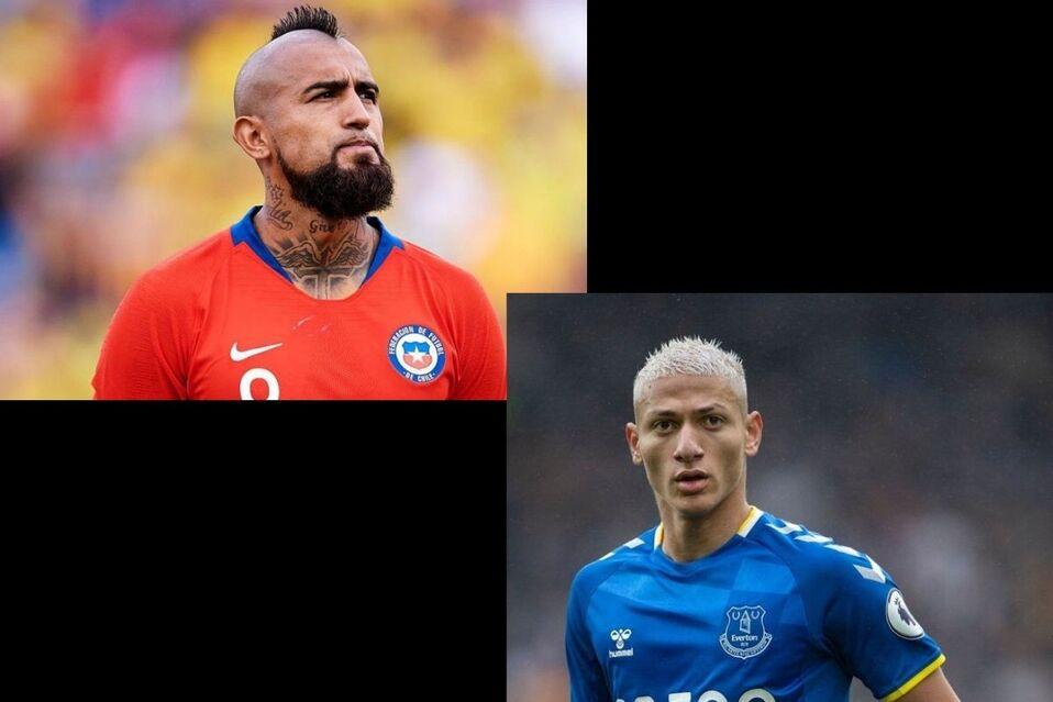 Ambos futbolistas publicaron cometarios en redes sociales