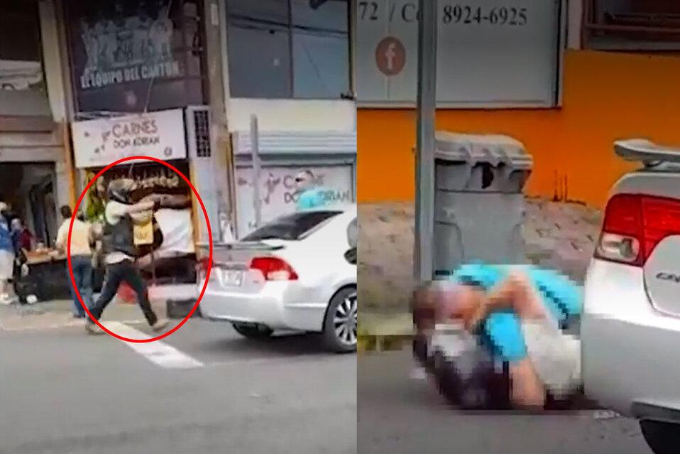 Motociclista disparó arma en medio de una pelea en Curridabat