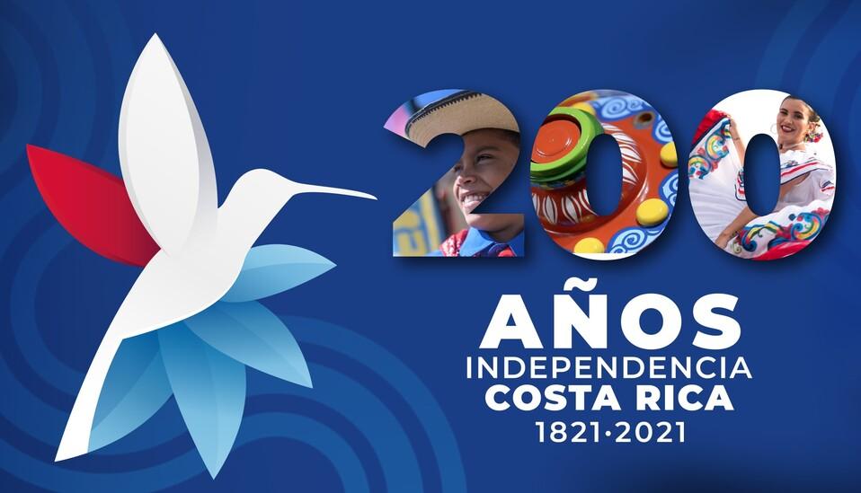 200 años de Independencia de Costa Rica