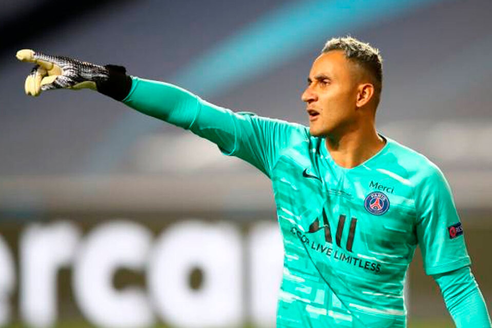 Navas volvió a ser figura en la Champions League.(Referencia)
