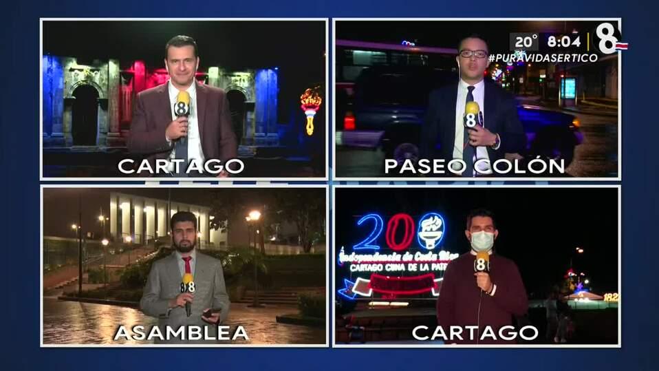 Noticias Telediario con Douglas Sánchez, 13 de septiembre de 2021
