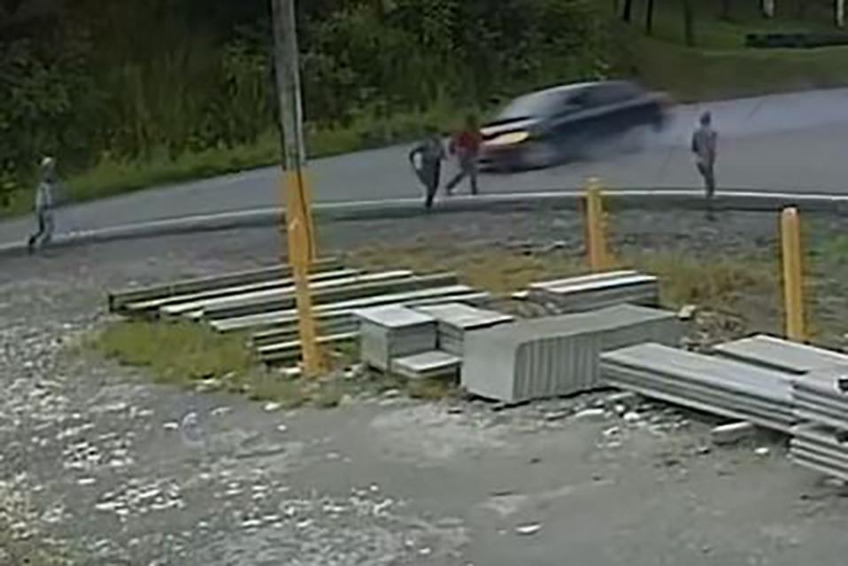 Conductor atropella a ciclista y se da la fuga en Osa
