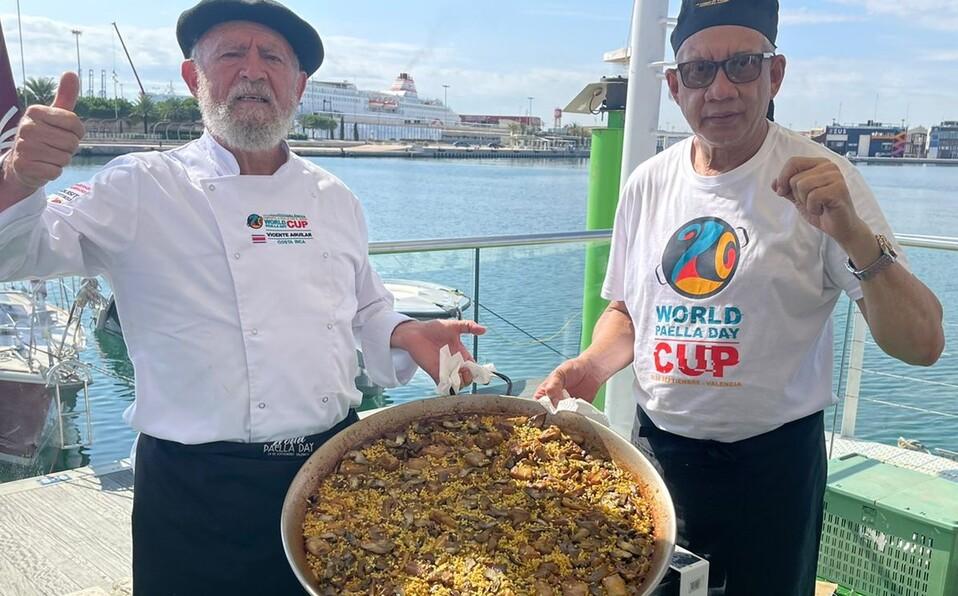 Vicente Aguilar entre los mejores cinco cocineros del mundo