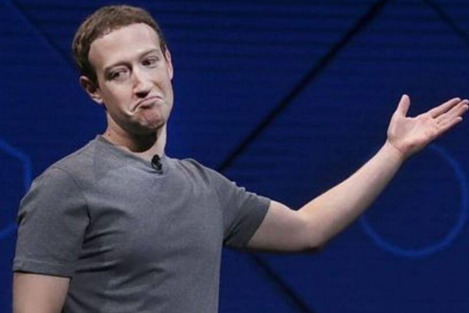 Mark Zuckerberg retrocedió casi 6mil millones tras caída de aplicaciones
