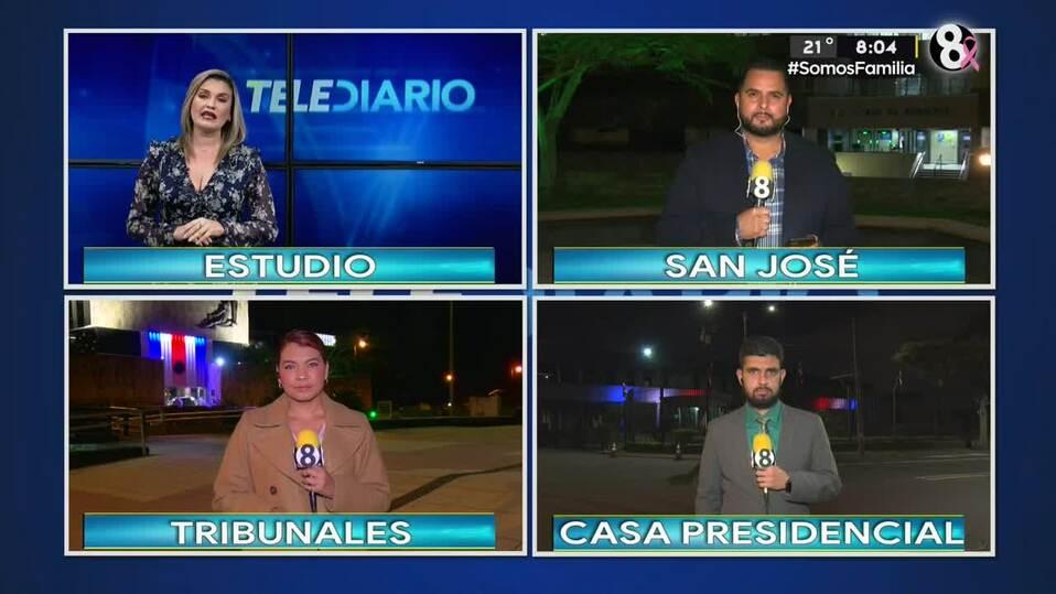 Noticias Telediario con Douglas Sánchez, 04 de octubre de 2021