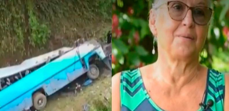 Sobreviviente de accidente en Cinchona:
