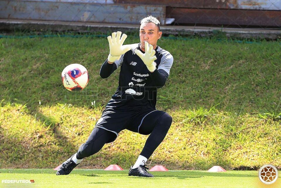 Keylor Navas, arquero de la Selección de Costa Rica. (Foto: Fedefútbol)