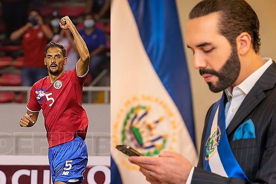 Nayib Bukele señala de robo gane de Costa Rica contra El Salvador