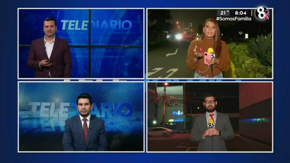 Noticias Telediario con Douglas Sánchez, 08 de octubre de 2021