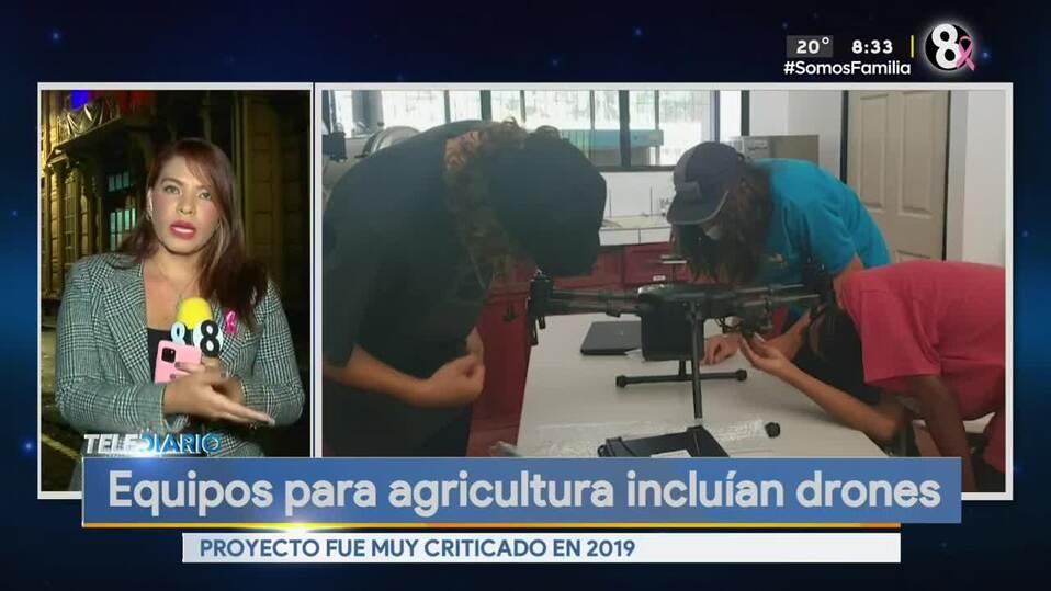 Noticias Telediario con Douglas Sánchez, 11 de octubre de 2021