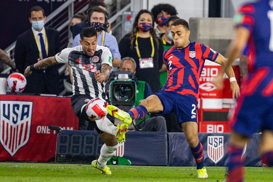 Costa Rica no pudo contra Estados Unidos. (Foto: Reuters)