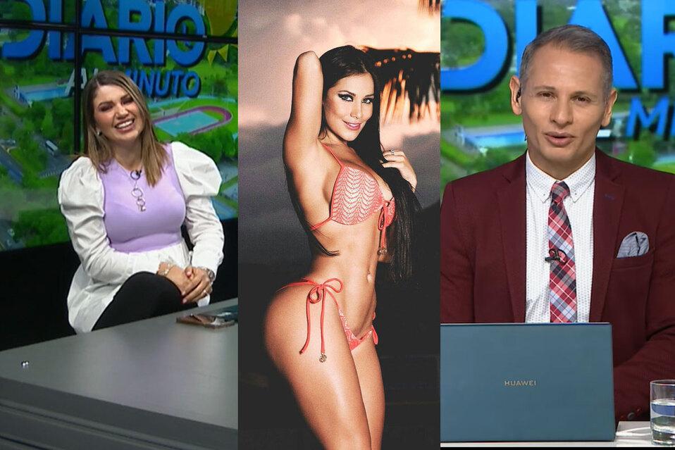 Alejandro Ramírez llama Melissa Mora a Melissa Durán en vivo   VIDEO