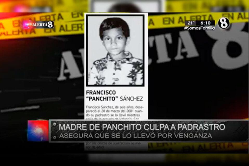 Madre del desaparecido pide al padrastro comparta el paradero del niño.