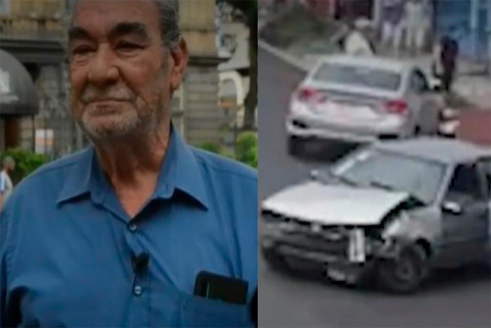 Adulto mayor sobrevive de milagro a accidente en Purral