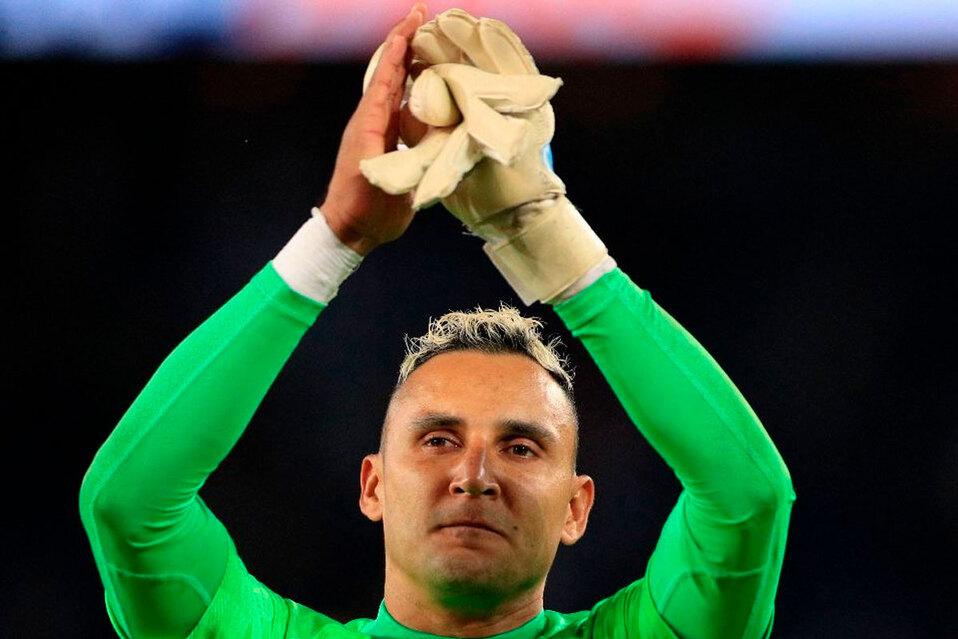 Mauricio Pochettino aseguró que Navas estaba recuperado.
