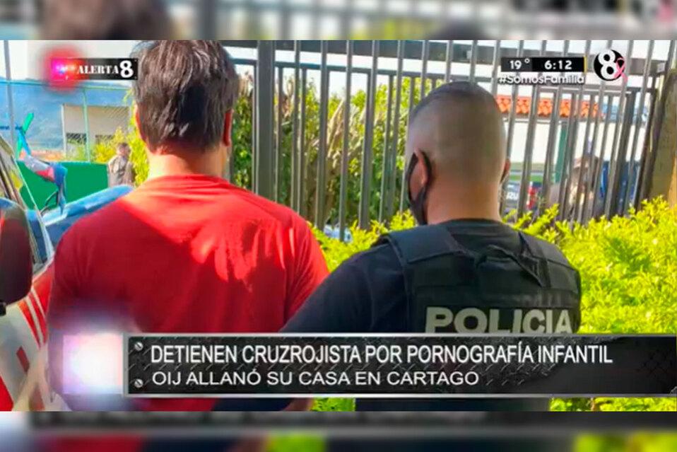 OIJ allanó casa de sospechoso en Cartago.