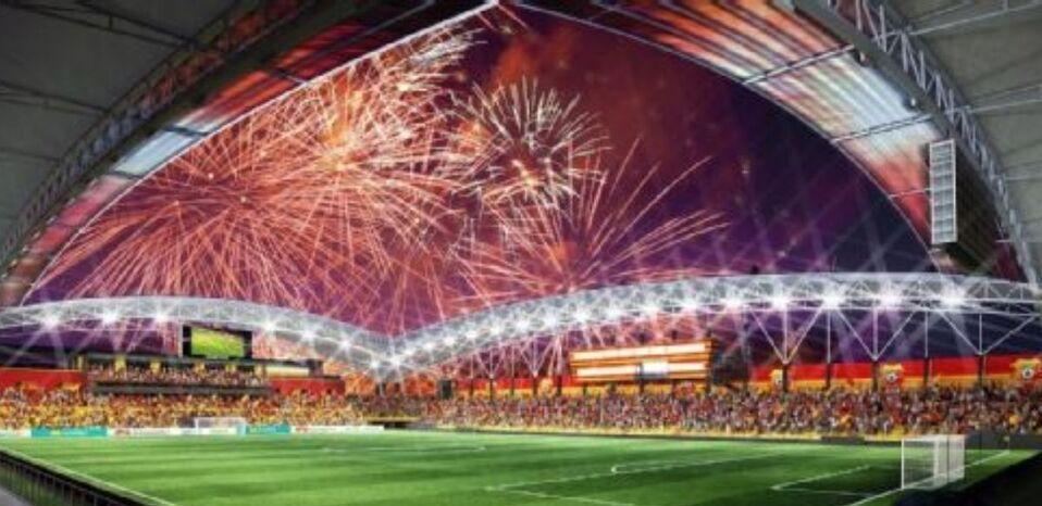 Nuevo Estadio Eladio Rosabal Cordero estará listo para finales del 2021 @csherediano1921