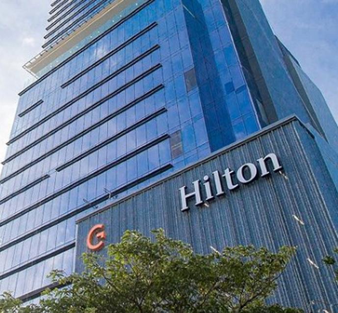 El hotel se ha convertido en el palco preferido por muchos. (Foto: Instagram @hiltonlasabana)