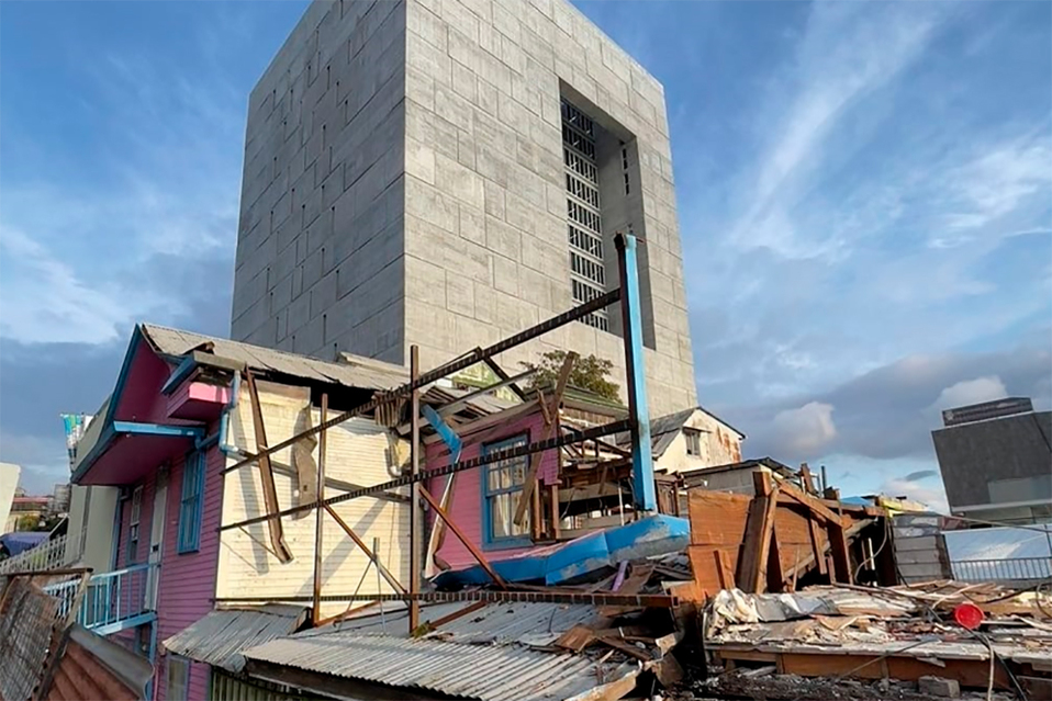 Desastre histórico: Crean edificaciones mientras destruyen estructuras nuevas en San José