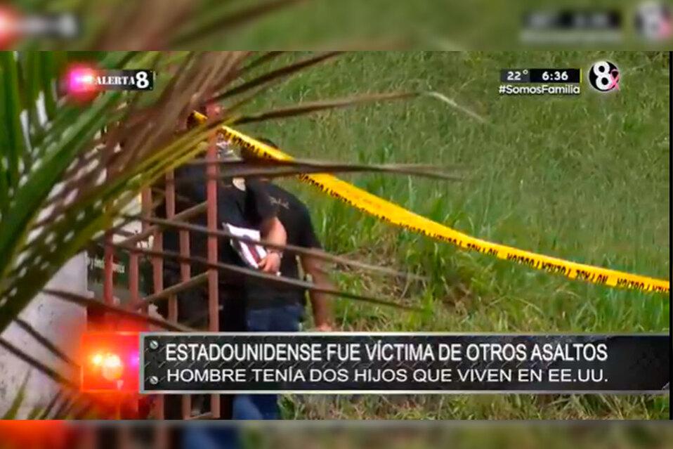 Estadunidense fue víctima de otros asaltos